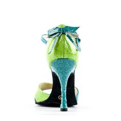 SANDALO #VERDE E #AZZURRO 118_100/3, danza #tango argentino ----- #GREEN AND LIGHT #BLUE SANDAL 118_100/3, argentinian tango dancing ----- #Paoul #danceshoes #dancingshoes #dance #shoes #womenshoes #argentiniantango #tangoargentino #lightblue