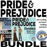 Pride and Prejudice Activity Mini Bundle
