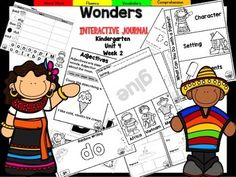 "This Kindergarten interactive journal is aligned to Common Core and to the McGraw Hill Wonders series for Unit 3-Week 3. This 16 page highly INTERACTIVE journal is ideal for teaching all of this week's skills in a powerful, student-friendly way!Complete Set Includes:-Mini Anchor Chart/Activities for Letter ""Dd""-""Dd"" Handwriting Practice-Phonemic Awareness Practice-Draw/Write Activities for ""Sid"" -Foldables for ""What Can You Do With a Paleta"" and ""A World Festival""-High Frequency Words-Vocabu..."