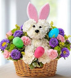 easter puppy blooms