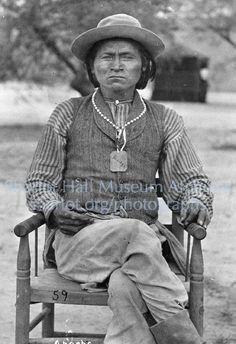 Apache Chief Sanches; C.1880