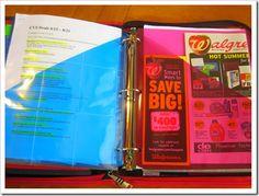 Large coupon binder