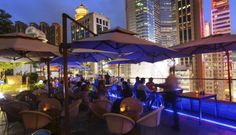 Wicker world: Shelter Italian Bar and Restaurant in Causeway Bay. Photo: Edmond So