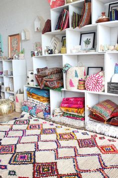 That Moroccan Rug Please! From Baba Souk #carpet #morocco #berber #homedecor