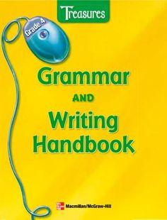 Treasures grammar and writing handbook gr 4 te
