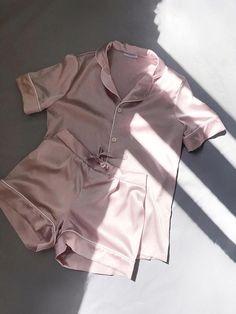 Silk pajamas shorts Silk pajama pink Silk pyjamas Silk set Silk pajama set Silk short pajama set Pajama for women Luxury satin pajamas Pink Silk Pajamas, Silk Pjs, Satin Pajamas, Pyjamas Silk, Silk Pajamas For Women, Cute Pyjama, Cute Pajama Sets, Pijamas Women, Mode Ootd