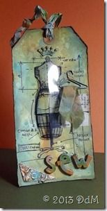 Desiree: tim holtz Sewing Blueprint stamp http://desiree-at-play.blogspot.com/2013/04/12-tags-of-2013april.html
