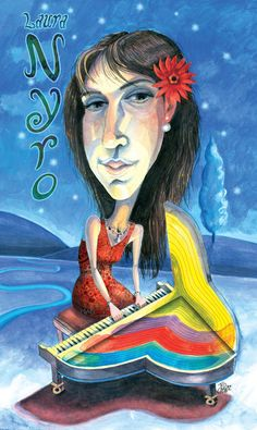 Laura Nyro: Piano-playing songbird  Rock and Roll Hall of Fame Class of 2012