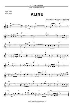 Aline richard clayderman partitura