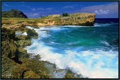 Picture Of Ocean At Mahaulepu - Photos of Hawaii Pictures