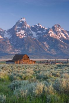 Where: Grand Teton, Wyoming  Why We Love It: This mountain is so beautiful that it had an entire national park named after it.