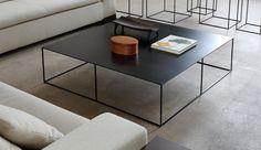 Zeus Noto Slim Irony Coffee Table - Coffee Tables Furniture