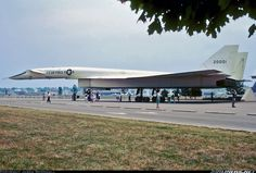 XB-70 Valkyrie at the USAF Museum Dayton, OH before it was moved indoors