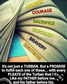 Sikh is not a Muslim. They have defended themselves against Muslims in the past. They wear turb ans too,but their turbans are different from Muslims. Sikh Quotes, Gurbani Quotes, True Love Quotes, Hindi Quotes, Guru Granth Sahib Quotes, Sri Guru Granth Sahib, Sikhism Beliefs, Guru Nanak Wallpaper, Guru Pics