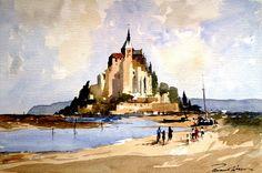 """美国 Edward welsson 的风景画(1) - 韵湖佳境 - 罗运湖 的博客""""韵湖佳境""""欢迎您"""