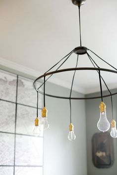 I didn't find this as a DIY project, but I'm pretty sure my handy fiance could figure something out.
