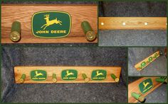 John Deere Coat Rack by ChetsKentuckyCrafts on Etsy