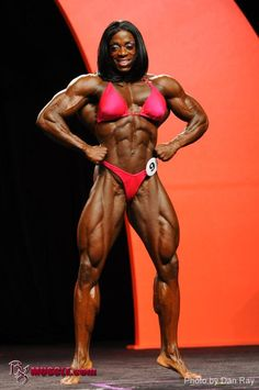 Iris Kyle - 2011 Miss Olympia #female #muscle