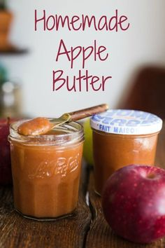 How to Make Apple Butter- this recipe explains how easy it is to make Homemade Apple Butter. Vegan, Gluten free, and absolutely delicious!