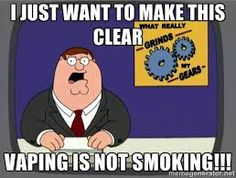 I hate the name ecigs! IT IS NOT A CIGARETTE, I REPEAT, IT IS NOT A CIGARETTE NO MATTER HOW U LOOK AT IT!!! UGH