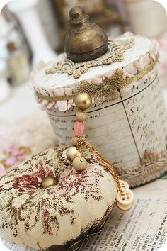 Check out all the ideas.....Good Ideas For You | Craft Of The Day Shabby Chic