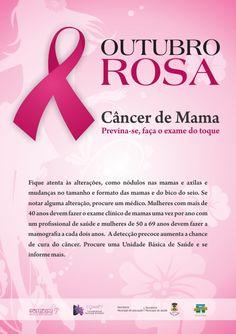 Flyer Outubro Rosa