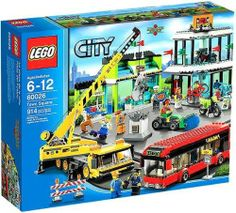LEGO City Set #60026 Town Square (673419191289) Officially Licensed