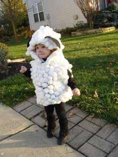 Homemade Sheep Costume Ideas.