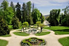 Tivoli Park is Ljubljana's largest and most beautiful park, stretching right into the city centre.
