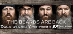 Fear The Beards! It's that time of year ! I can't get my Husband to cut his ;)  Duck Dynasty!!