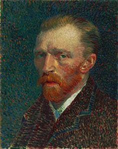 Vincent Van Gogh. Self Portrait, 1887.