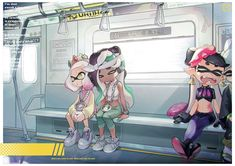 See more 'Splatoon' images on Know Your Meme! Splatoon 2 Game, Splatoon Squid, Splatoon Memes, Nintendo Splatoon, Splatoon Comics, Wii U, Marina Splatoon, Pearl And Marina, Callie And Marie