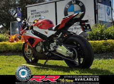 2016 BMW S 1000 RR - Racing Red / Light White