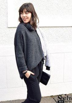 Диалоги Turtle Neck, Sweaters, Fashion, Moda, Fashion Styles, Sweater, Fashion Illustrations, Sweatshirts, Pullover Sweaters