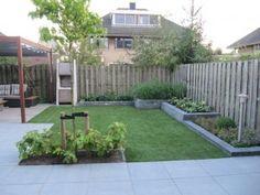 Afbeeldingsresultaat voor gemetselde muur tuin