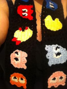 rest of the pacman scarf