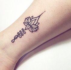 Les tattoos de la semaine sont consacrés au symbole de l'Unalome, un petit dessin riche en signification spirituelle...