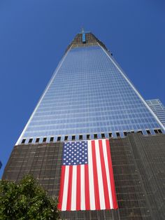 ...The Flag still flies at the new World Trade Center...