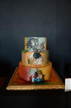 1000 images about sugar art l 39 amore nelle grandi opere d for Arte delle torte clementoni