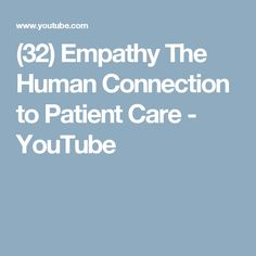 empathy the future of interpersonal connections Moral affects, empathy, and integrative self  played expected connections with aggression, interpersonal  with the interpersonal adjustment of empathy.