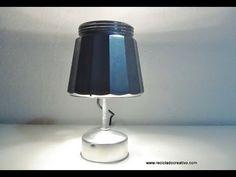 Lampara realizada con una cafetera italiana How to make a lamp out of an italian coffee maker - YouTube