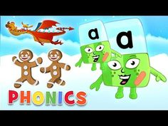 Phonics - ABC Adventures | Learn to Read with the Alphablocks - YouTube Easy Spells, Hard Words, Phonics Sounds, Learn To Read, Kids Learning, Spelling, Adventure, Education, Reading