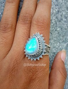#rainbowmoonstonering #moonstonering #925silverplated #handmade #fassion #jewelry #gemstonejewelry #moonstonejewelry #giftformom #ovalstonering #ring #bohoring #anniversarygift #birthstone #weddinjewelry #etsy #ring #artisanjewelry #antique #sterlingsilverplated #giftforher #healingcrystalring #daintyring #crystal #weddingring #mothersdaygift #ring #Etsy #Etsyshop #engagementring #designerring #ring #jewelry #gemstonejewelry #giftforhim #handmadejewelry #healingring #vintagering #charmring Moonstone Jewelry, Gemstone Jewelry, Yellow Stone Rings, Malachite Jewelry, Rainbow Moonstone Ring, Valentines Jewelry, Charm Rings, June Birth Stone, Turquoise Pendant
