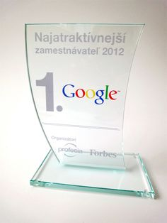 Grafické sklo ocenenie