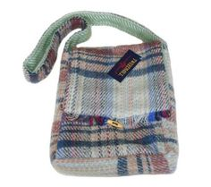 recycled men's clothing | ... Recycled Wool Random Shoulder Bag by Tweedmill: Amazon.co.uk: Clothing