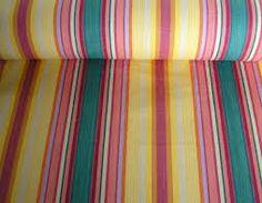 Bright stripey design