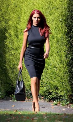 AMY CHILDS at a Photoshoot in Chigwell Essex