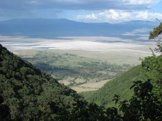 Ngorongoro Crater National park, Tanzania. A wonder in itself...the animal viewing was spectacular