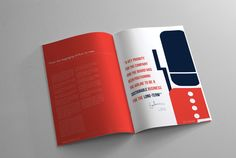 Ace Airlines- 2012 Annual Report on Behance