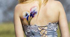 Calla lily watercolor tattoo